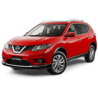 Nissan X-Trail Boot Liners (2014 - 2017)