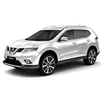 Nissan X-Trail III T32 Facelift Boot Liners (2017 Onwards)