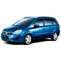 Vauxhall Zafira B Boot Liner (2005 - 2014)