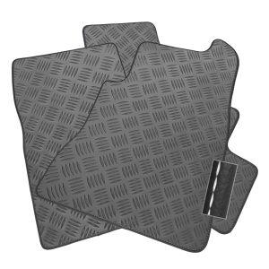 Black Carpet CARMATS4U.COM Car Mats to fit CX-30 2019+ Ultra Durable Full Width Heel Pad Black Trim 2423 Black Heel Pad